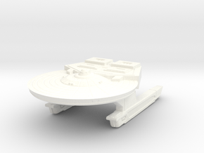 New Light Cruiser in White Processed Versatile Plastic