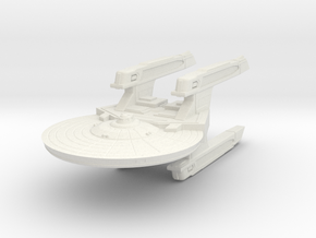 Fast Cruiser in White Natural Versatile Plastic