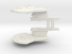 Two Destroyer Escort in White Premium Versatile Plastic