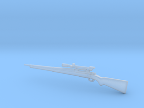 M1903A4 With M84 2.2 scope in Smooth Fine Detail Plastic: 1:16