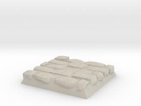 Cobble Stone Base in Natural Sandstone