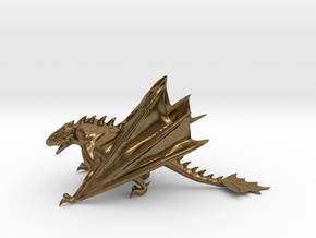 Dragon Model in Natural Bronze: Medium