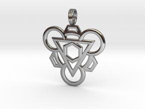 NERO BLAST in Fine Detail Polished Silver