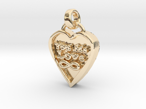 You Me Love Forever in 14K Yellow Gold