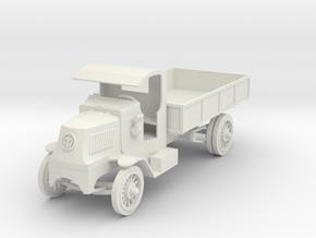 PV26A Mack Bulldog Model AC (28mm) in White Natural Versatile Plastic