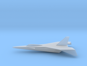 Lockheed X-15D 1:285 in Smooth Fine Detail Plastic