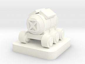 Mini Space Program, Habitat Rover in White Processed Versatile Plastic