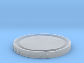 modeling  coaster in Smooth Fine Detail Plastic