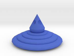 106102344 J.J.X Cup lid in Blue Processed Versatile Plastic