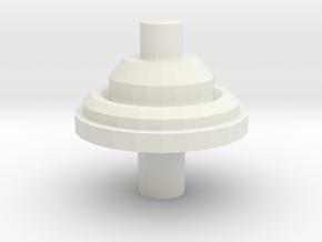 Antenna Short Fixed D90 D110 1:10 in White Natural Versatile Plastic