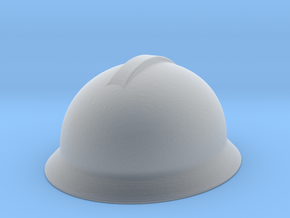 Hard Hat scale 1/24 small border / ultra detail in Smooth Fine Detail Plastic