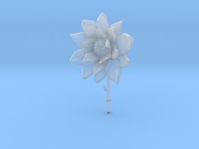 Flower in Smooth Fine Detail Plastic
