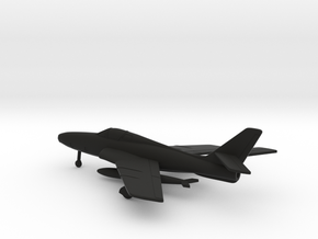 Republic RF-84F Thunderflash in Black Natural Versatile Plastic: 1:200