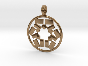 PYTHAGORIZED in Natural Brass