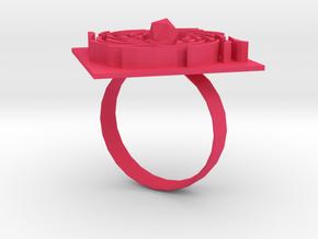 Reversal in Pink Processed Versatile Plastic
