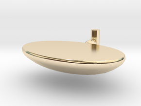 Soap box in 14k Gold Plated Brass: Small