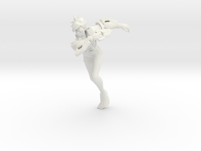 Printle V Femme 941 - 1/18 - wob in White Natural Versatile Plastic