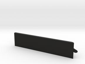 TechDeck Rail in Black Natural Versatile Plastic: Medium