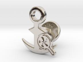 Cufflinks - Do your Rubesty! in Platinum