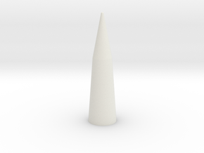 Pershing 1A Nose Cone BT80 Part2 in White Natural Versatile Plastic