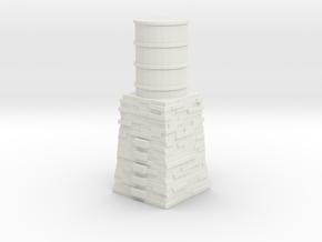 Skarloey Water Tower Type 1 Tomy/Trackmaster Scale in White Natural Versatile Plastic