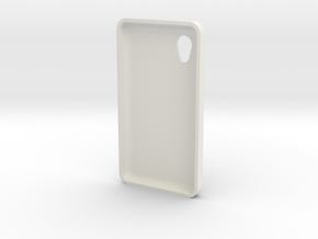 Phone case in White Natural Versatile Plastic