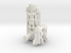 T-Ai Transforming Targetmaster Kit (5mm) in White Natural Versatile Plastic