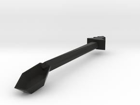 Spoon in Black Premium Versatile Plastic