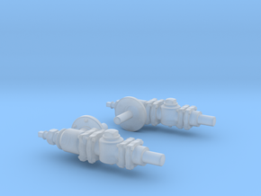 Nathan Boiler Check Valve in Smooth Fine Detail Plastic