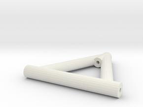 Lenker Oben Lang 3-Link in White Natural Versatile Plastic