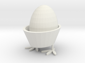 egg rack in White Natural Versatile Plastic: Medium