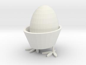 egg rack in White Natural Versatile Plastic: Medium