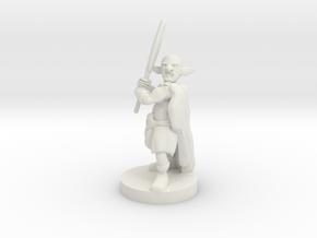 Deep Gnome Axe  Barbarian in White Premium Strong & Flexible