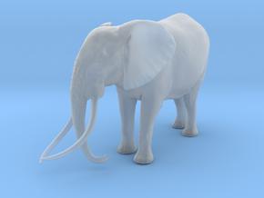 African Bush Elephant 1:25 Tusker Bull Satao in Smooth Fine Detail Plastic