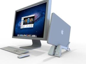 MacBook Pro Stand in Metallic Plastic