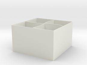 106102104收納盒 in White Natural Versatile Plastic