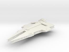 Sith Empire Harrower Dreadnought Armada Scale in White Natural Versatile Plastic