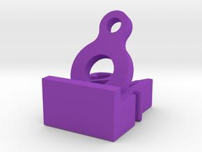 8&24 in Purple Processed Versatile Plastic: Small