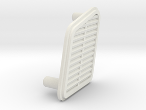 unimog 425 side vent in White Natural Versatile Plastic