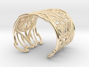 "Bracelet ""Jolie"" in 14K Yellow Gold: Small"
