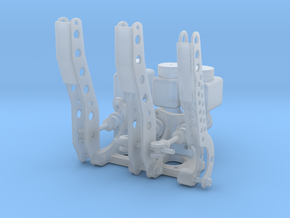 Racing Pedal Box - Type 2 - 1/8 in Smooth Fine Detail Plastic