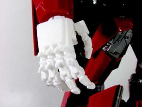 DOTM Leader Sentinel Prime hands (movie acc.)  in White Natural Versatile Plastic