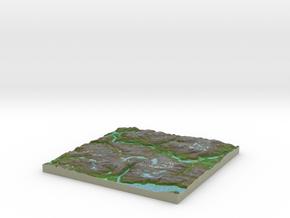 Terrafab generated model Sat Dec 30 2017 12:51:14  in Full Color Sandstone