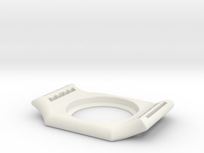 Freestyle Libre Sensor Holder (clock model) in White Natural Versatile Plastic