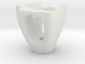M5_Tap Holder- OpenBuilds V-Slot in White Natural Versatile Plastic