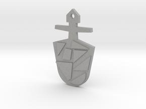 The Eighth Doctor's TARDIS Key in Aluminum: Medium