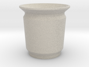 Modern Pencil Cup - Sm / Desk Accessories in Natural Sandstone