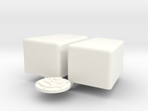 1/12 Jaz 3gal 12 7p5 10 Econo Rail in White Processed Versatile Plastic