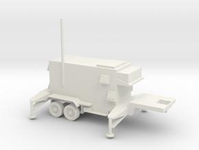 1/87 Scale Patriot Missile C2 Trailer in White Natural Versatile Plastic