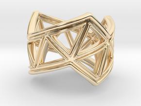 Phylloframe Ring 2 in 14K Yellow Gold: 4 / 46.5